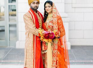 Mamta Chaudhari and Jay Dandapani's summer wedding was a vibrant, modern affair laced with Indian tradition.<br><br>The three-day affair was a celebra