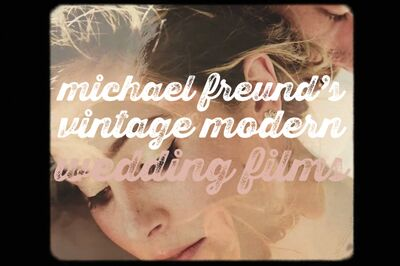 Michael Freund's Vintage Modern Wedding Films