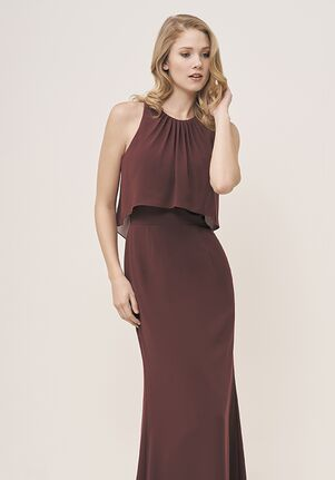 JASMINE P196057 Bateau Bridesmaid Dress