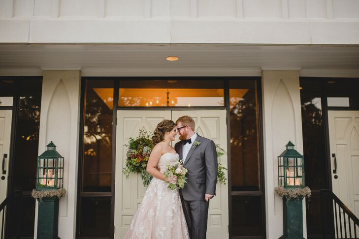 Brooklee Lightsey (23 and a doctoral student) had always wanted to get married under a c