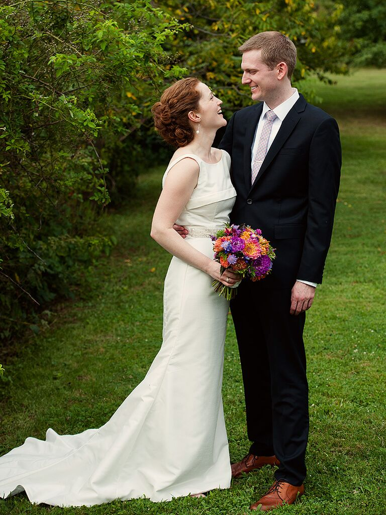 Ivory secondhand wedding gown