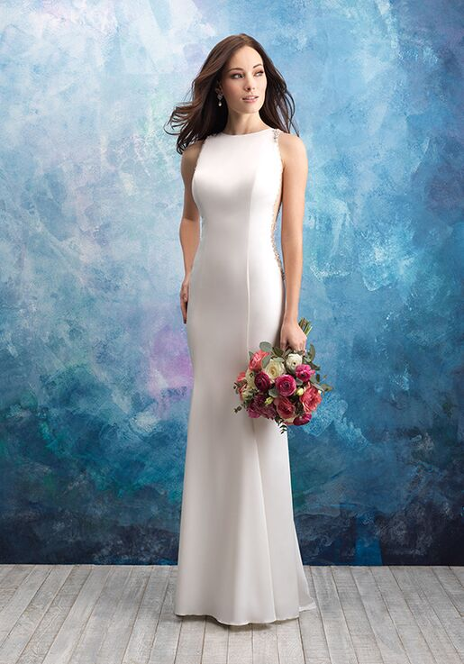 Allure Bridals 9568 Sheath Wedding Dress