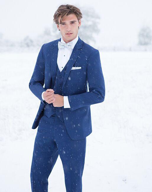 Allure Men Cobalt Tuxedo Blue Tuxedo