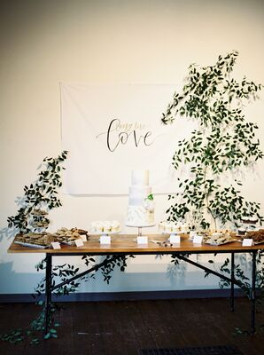 Cake Table Banner and Garland