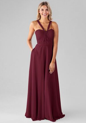 Kennedy Blue Ivy Halter Bridesmaid Dress