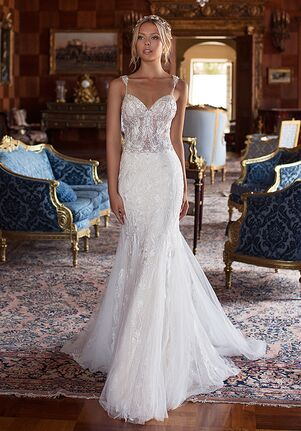 Moonlight Couture H1380 Mermaid Wedding Dress