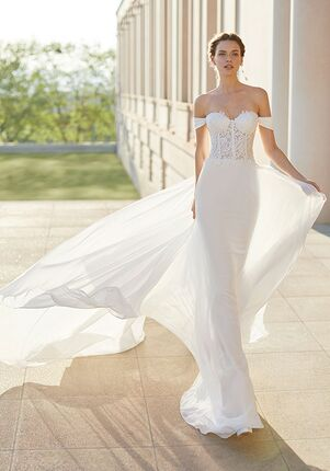 Rosa Clara Couture SATINA Sheath Wedding Dress
