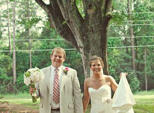 Brett and Brooke's brothers were best friends and fraternity brothers at the University of Georgia.  The Bride Brooke Byce, 26 The Groom Brett Marshal
