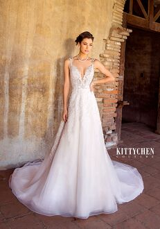KITTYCHEN Couture AALIYAH, K1938 A-Line Wedding Dress