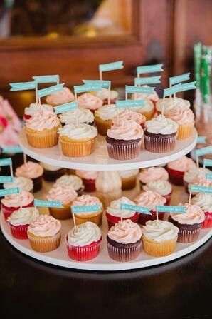 Whimsical Cupcake Display