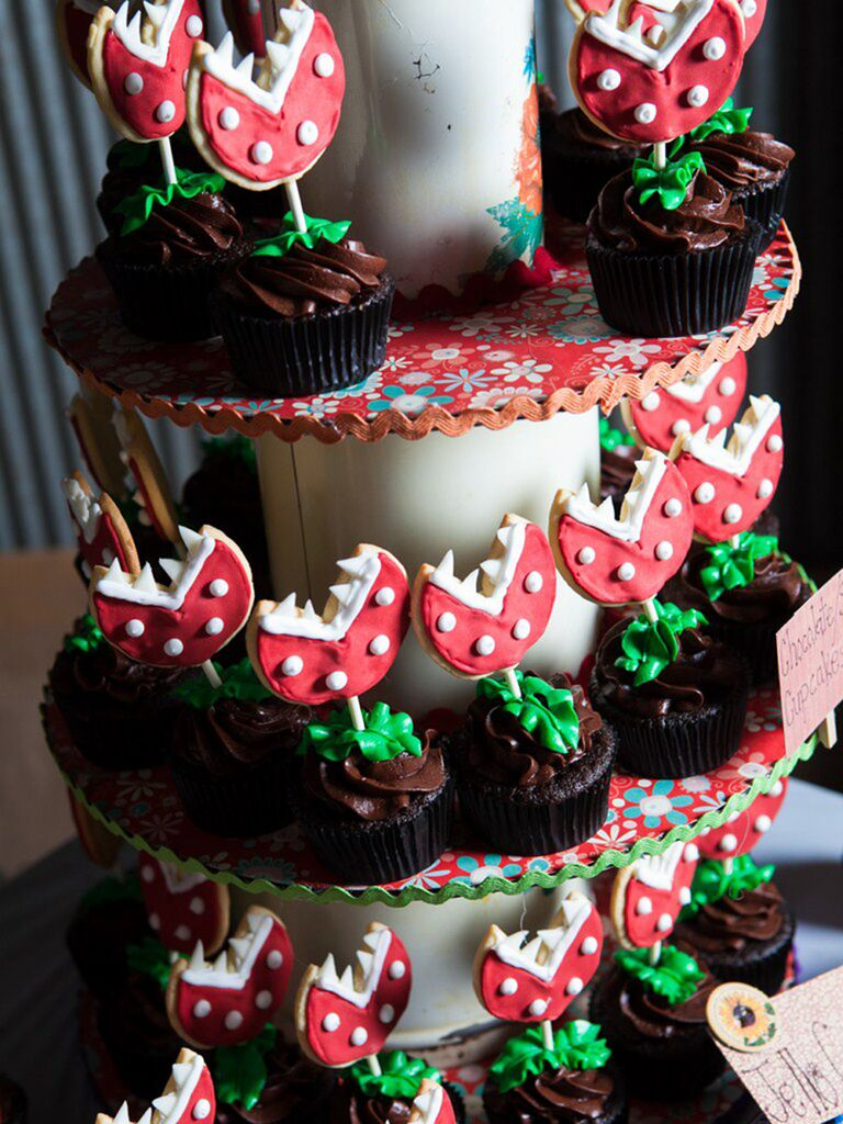 Wedding cake ideas with cupakes