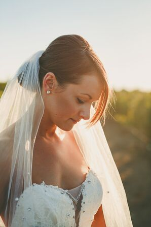 ebdadd27601f Elegant, Romantic Vineyard Wedding in California