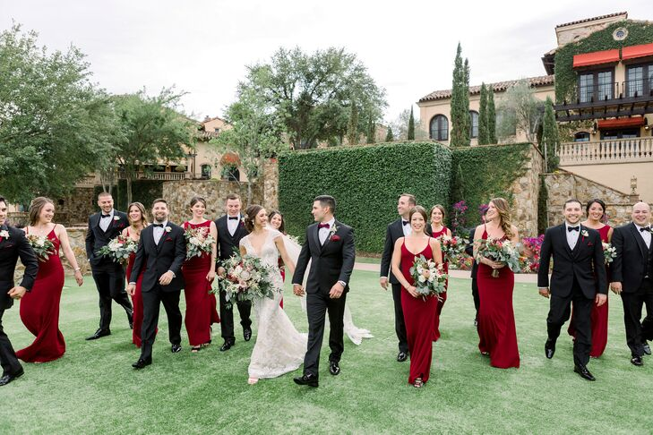 Wedding Party at Bella Collina in Florida