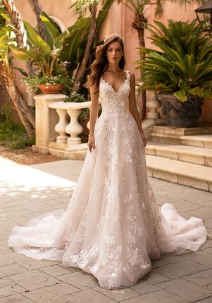 Moonlight Couture H1422 A-Line Wedding Dress