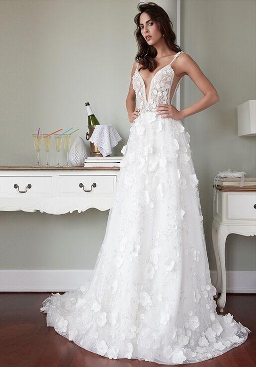 f91795060a27 Alessandra Rinaudo Collection LARA AR 2018 A-Line Wedding Dress