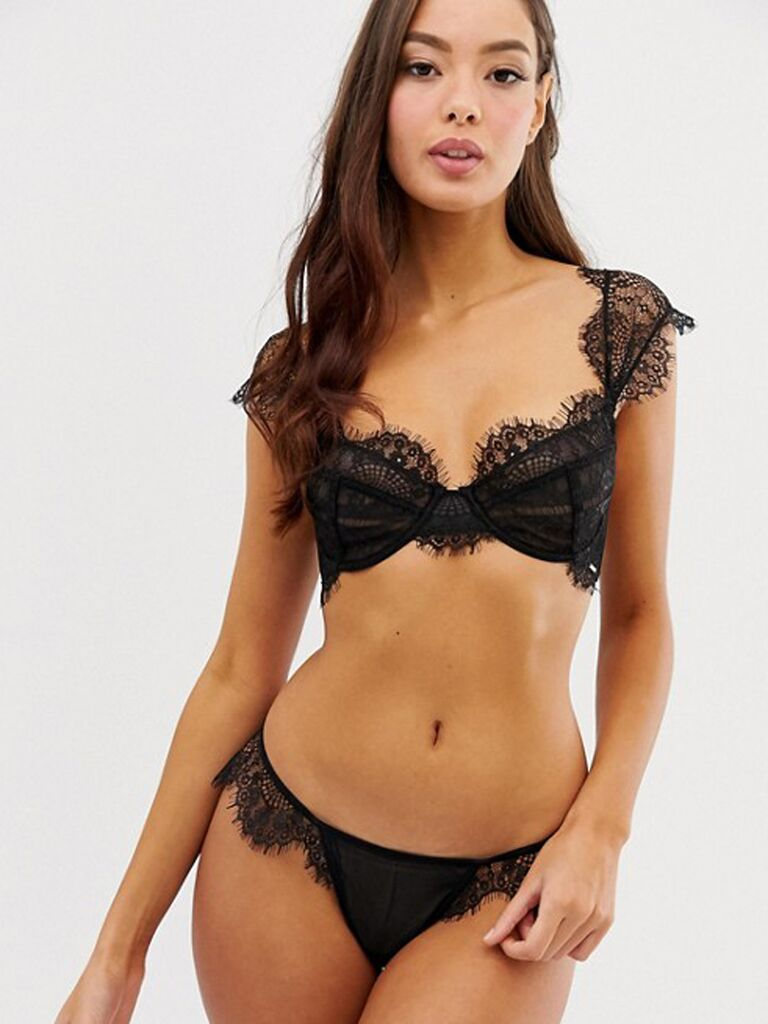 e69e570eb 30 Honeymoon Lingerie Looks for Every Bride