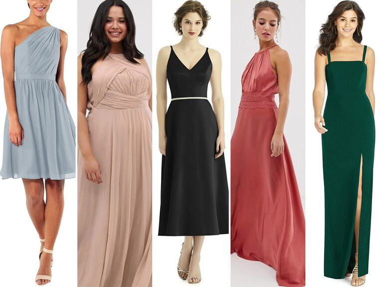 f1bcd2c29bea 55 Affordable Bridesmaid Dresses That Don't Look Cheap