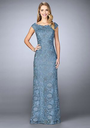 Slate Blue Mother of the Bride Dresses