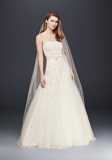 David's Bridal David's Bridal Collection Style V3469 A-Line Wedding Dress