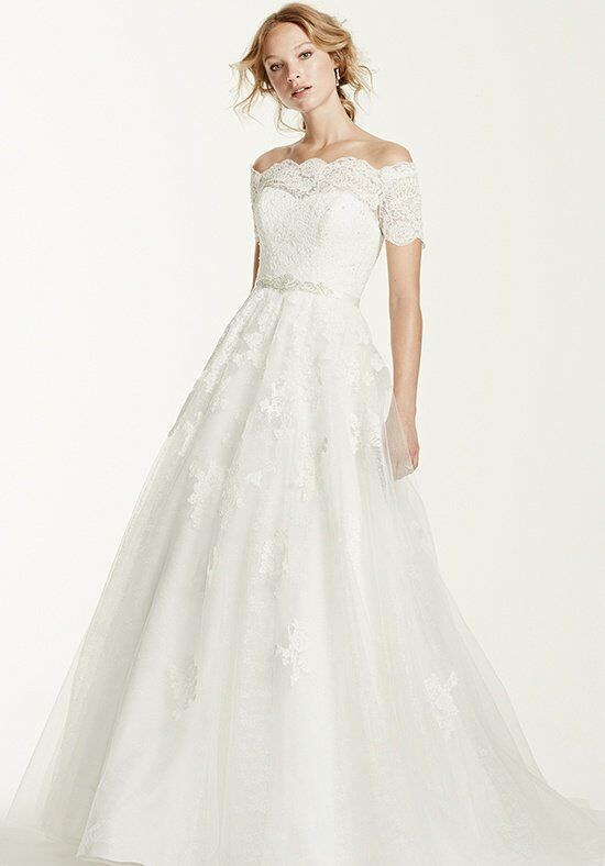 dresses for weddings guests david s bridal style wg3728 wedding dress the knot 3728
