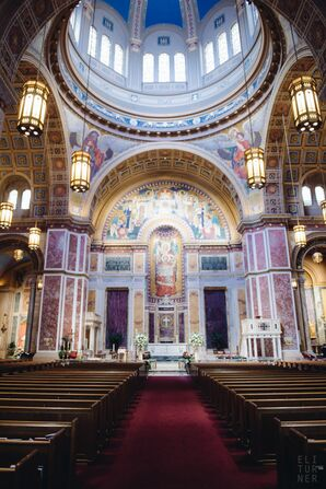 Ceremony at Cathedral of St. Matthew the Apostle