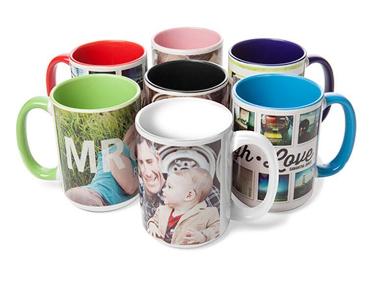 Personal photo coffee mug 15-year anniversary gift for him
