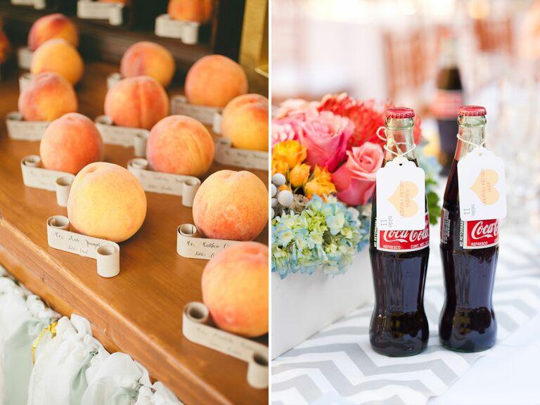 Georgia peaches and Coca-Cola