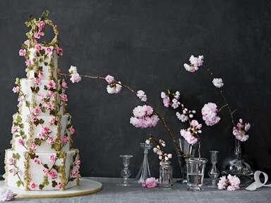 Maggie Austin sleeping beauty inspired wedding cake