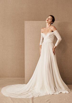 BHLDN Miles Gown A-Line Wedding Dress