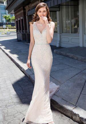 KITTYCHEN Couture MADDIE, K1845 Sheath Wedding Dress