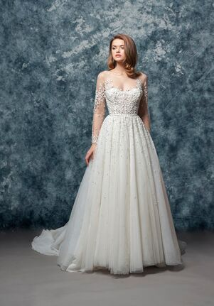 Enaura Bridal Couture EF811-Daphne A-Line Wedding Dress