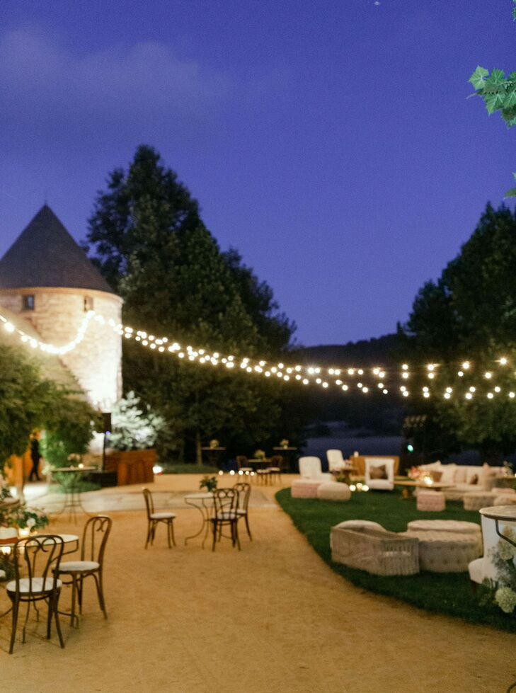 Sunset Reception at Kestrel Park in Santa Ynez, California