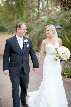 A-Line Enzoani Wedding Dress