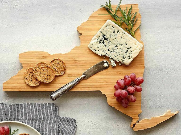 state cutting board thoughtful gift for husband