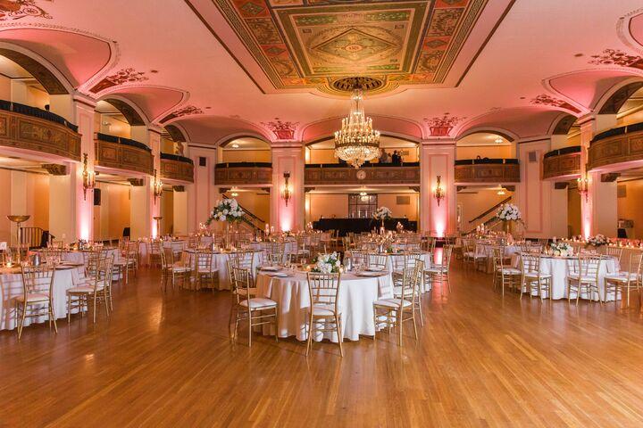 Masonic Temple Reception Venues Detroit Mi