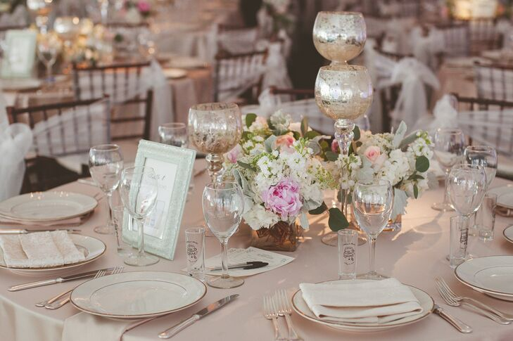 Pastel Tablescape for Backyard Garden Reception