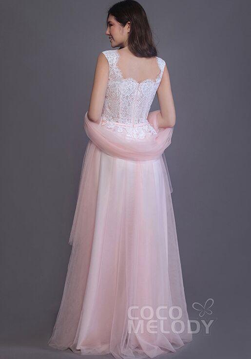 CocoMelody Bridesmaid Dresses PR3507 Square Bridesmaid Dress