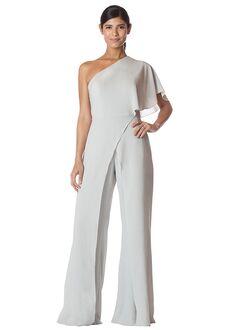 Bari Jay Bridesmaids 1765 One Shoulder Bridesmaid Dress