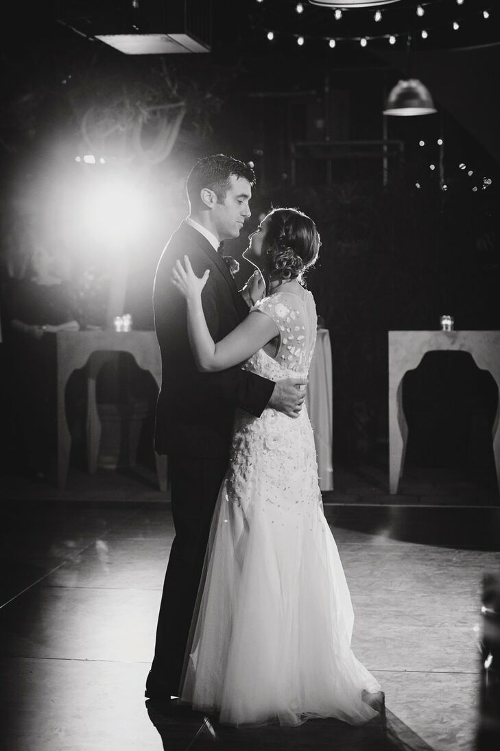 Carly and David wanted their first dance to be to a fun and soulful song, so they chose Aretha Franklin's Baby I Love You.