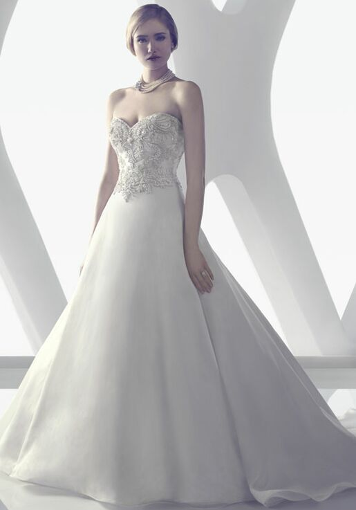 Amaré Couture B077 A-Line Wedding Dress