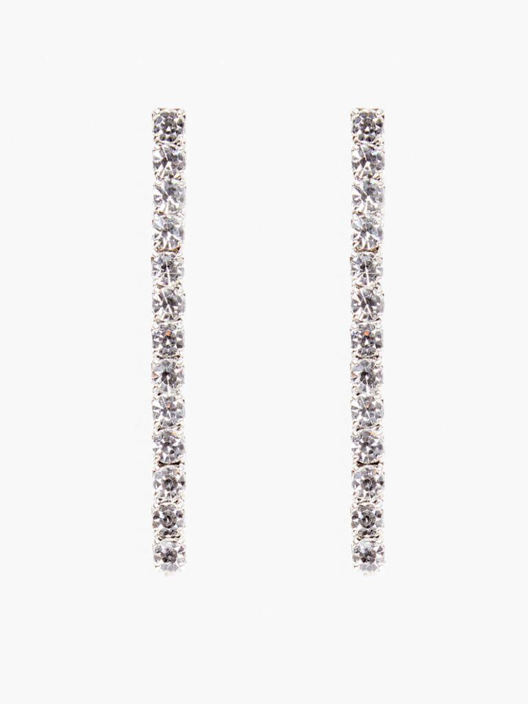 silver sparkly barrettes