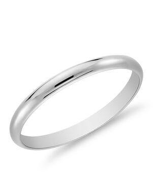 Blue Nile 22 Platinum Wedding Ring