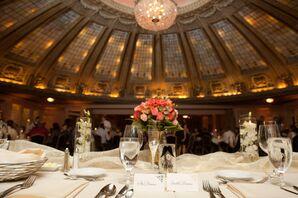 Dining Table at Reception Ballroom