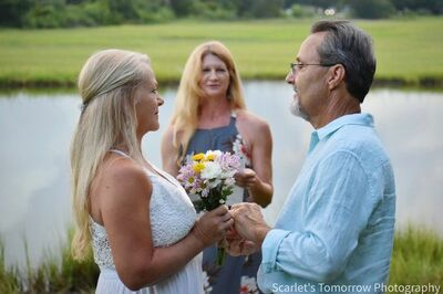 Married on The Marsh Intimate Wedding and Elopement