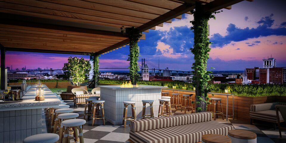 Perry Lane Hotel Savannah Ga