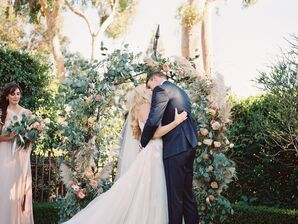 Romantic, Earthy Garden Ceremony
