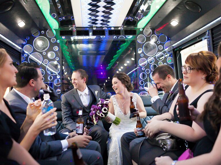 Wedding after-party transportation
