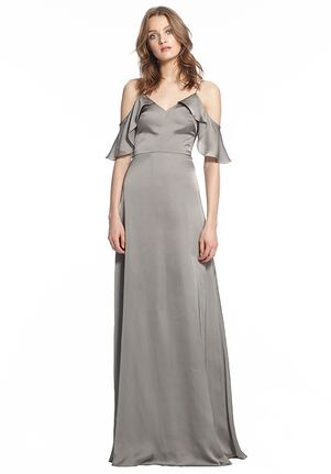 Monique Lhuillier Bridesmaids 450492 Off the Shoulder Bridesmaid Dress