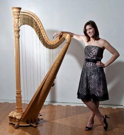 Harpist, Nicole McAllister