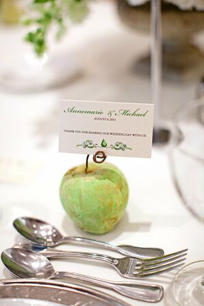 Apple Paperweight Favors